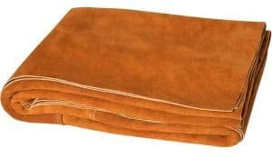leather welding blanket